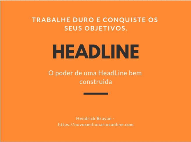 HeadLines para E-mail marketing